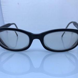 DKNY Women Eyeglasses Frame Black Plastic Frame